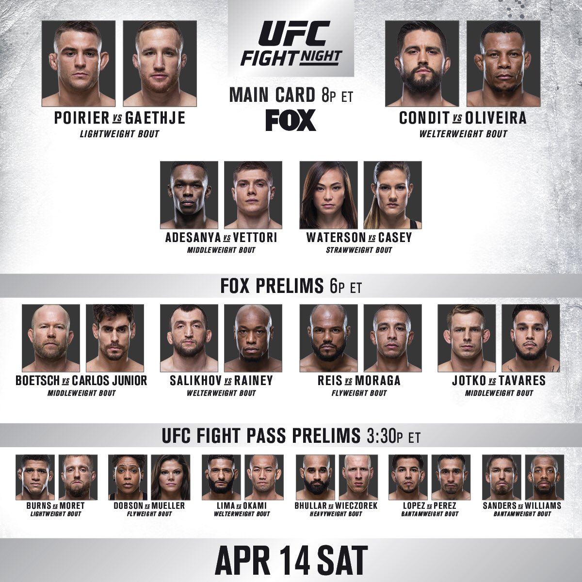 RT b/c IT'S FIGHT DAY!!  #UFCGlendale goes down TONIGHT | 8pmET/5pmPT | LIVE & FREE on BIG @FOXTV!
