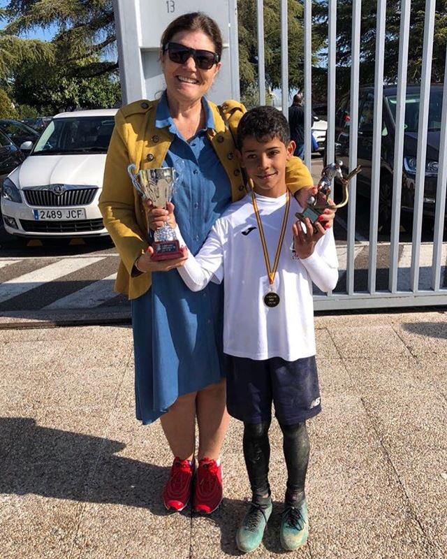 O Cristiano foi o melhor marcador da escola! Parabéns filho!👏🏽🔝👌🏽
