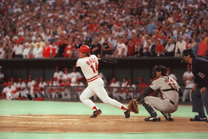 Happy 77th Birthday Pete Rose! You ready to let him in the Hall of Fame yet?