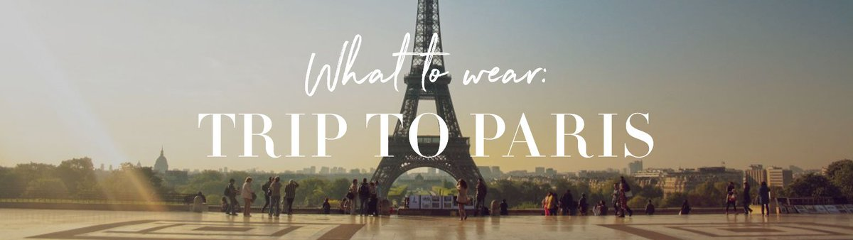 Who wouldn't love a trip to Paris? Even if you can't make it to the Champs-Élysées, you can definitely look the part. Check out our 'Trip to Paris' lookbook! https://t.co/59xCK32rCP