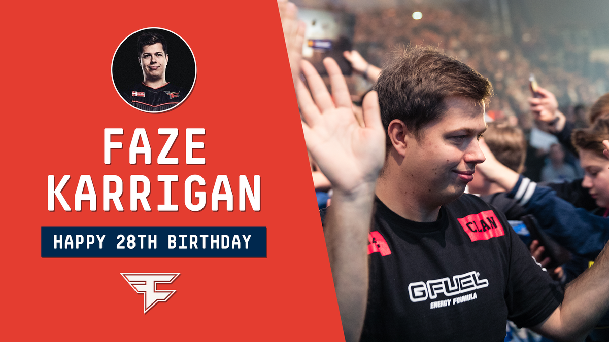 Happy 28th Birthday to @karriganCSGO! 🎂...