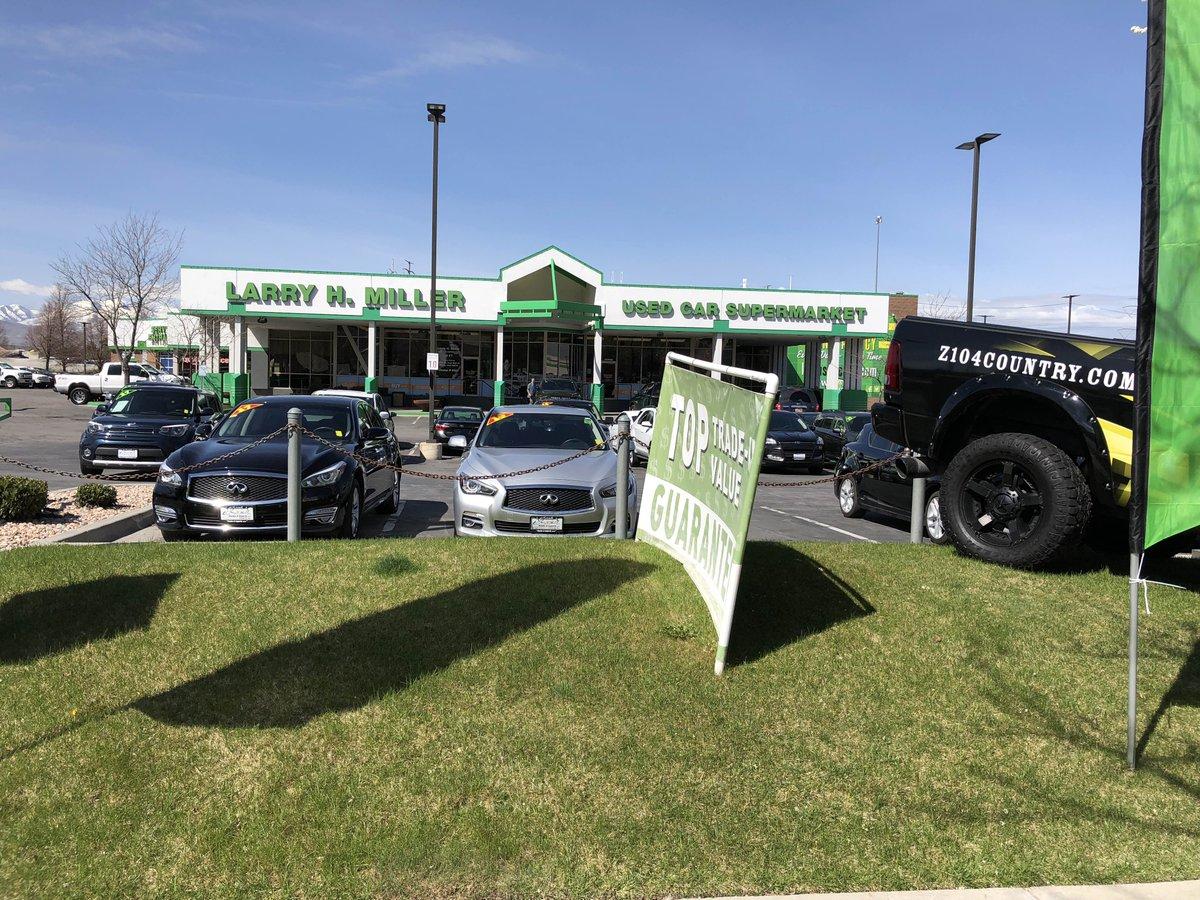 Larry H Miller Used Car Supermarket Sandy >> Z104country Ksop Fm On Twitter Join Us Here At Larry H Miller