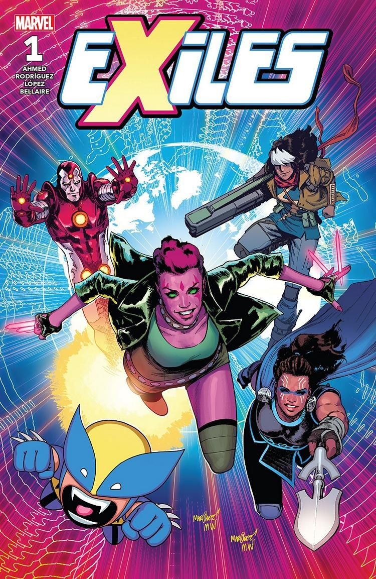 Review: EXILES #1 by @saladinahmed @javiercaster @BakadoriSan @whoajordie @JoeCaramagna buff.ly/2vhaJPy ...review by @AdoptiveOfEarth #comics @Marvel #exiles