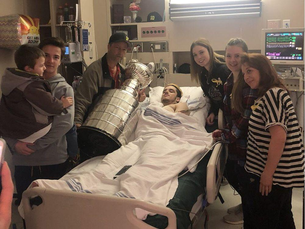 Injured Humboldt Broncos cheered by Stanley Cup visit to their hospital bedsides https://t.co/OphQUEij14