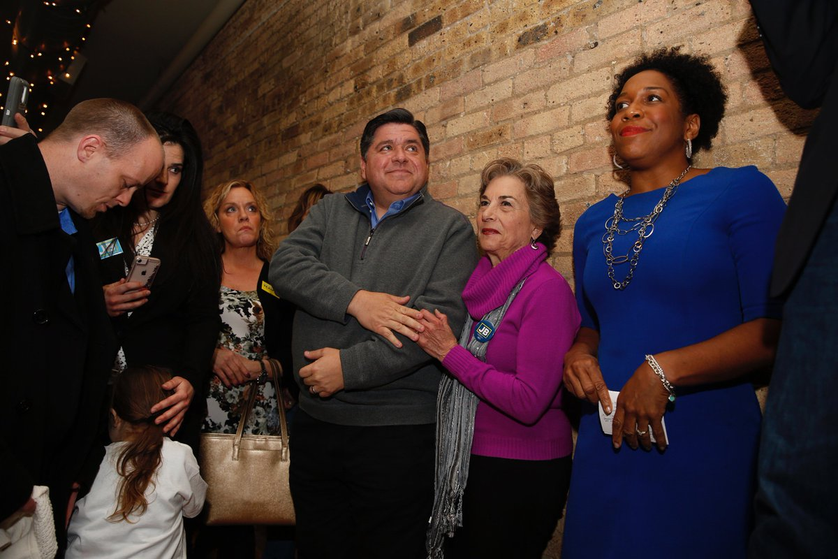 Jb Pritzker On Twitter I Ended The Day At A Meet And Greet With