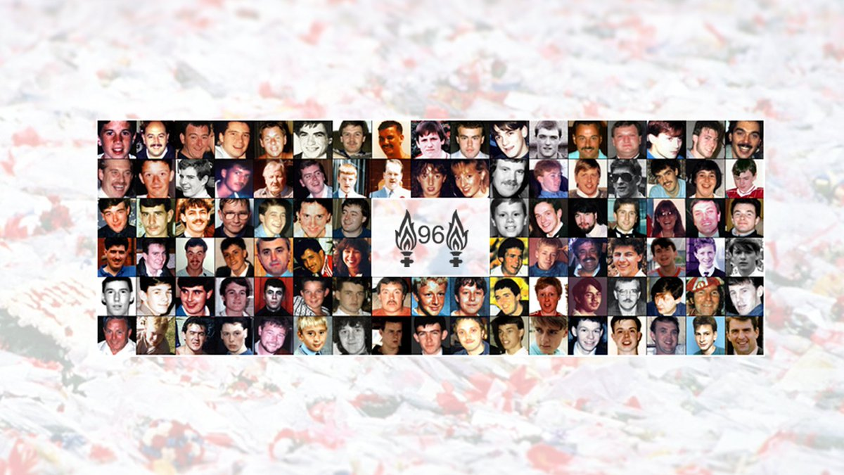 29 years ago today, 96 children, women and men lost their lives at Hillsborough. We will never forget them.  Our thoughts are with the families, survivors and all those affected by the tragedy.