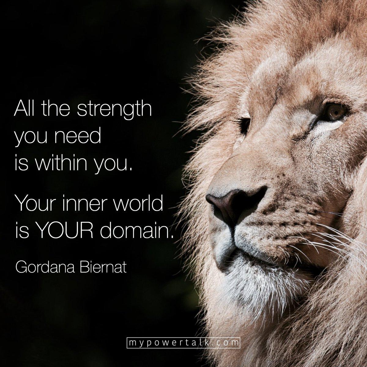All the #strength you need is #within you  Your #inner #world is YOUR #domain  via @MyPowertalk  #ThinkBIGSundayWithMarsha #InspireThemRetweetTuesday #Life #JoyTrain #IQRTG #Love  #SuperSoulSunday #MondayMotivation #MotivationMonday #TuesdayThoughts #WednesdayWisdom<br>http://pic.twitter.com/PXV6mc02X7