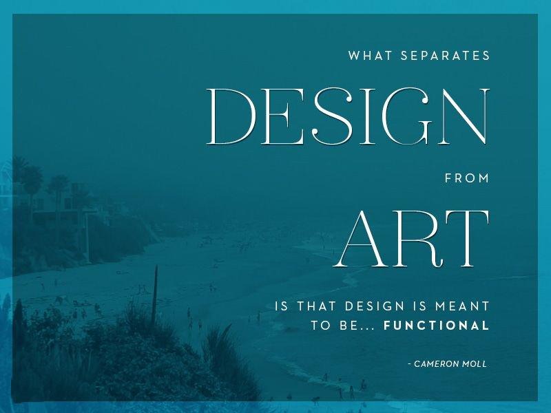 What Separates Design From Art Is that Design Meant To Be Functional.  #javascript  #reactjs #vuejs  #webdeveloper #webdesign #webdesigner  #programming #css #thedevlife #js #jquery #php #nodejs #rubyonrails #java #laravel #ZakeMedia<br>http://pic.twitter.com/pro2ux58hq