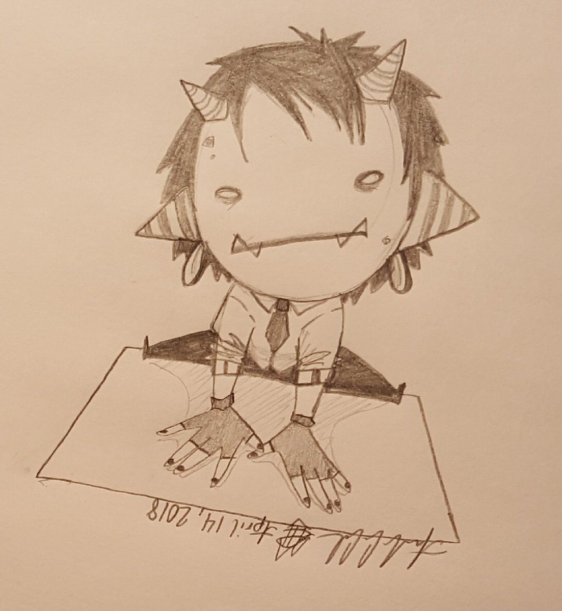 Crucabstractor On Twitter Daily Doodle 681 Doodle Daily Pencil