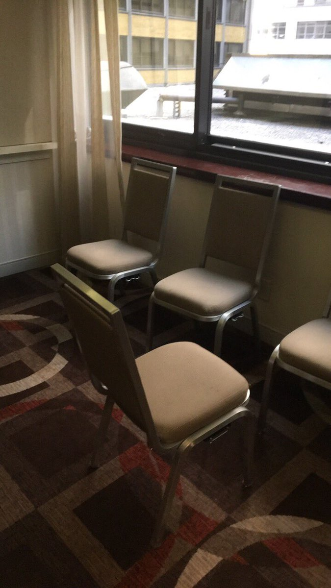Nothing but a chair in a smelly room. And only space across all conference hotels. Do better for #breastfeeding mamas @AERA_EdResearchpic.twitter.com/ ... & Meredith Sinclair on Twitter: