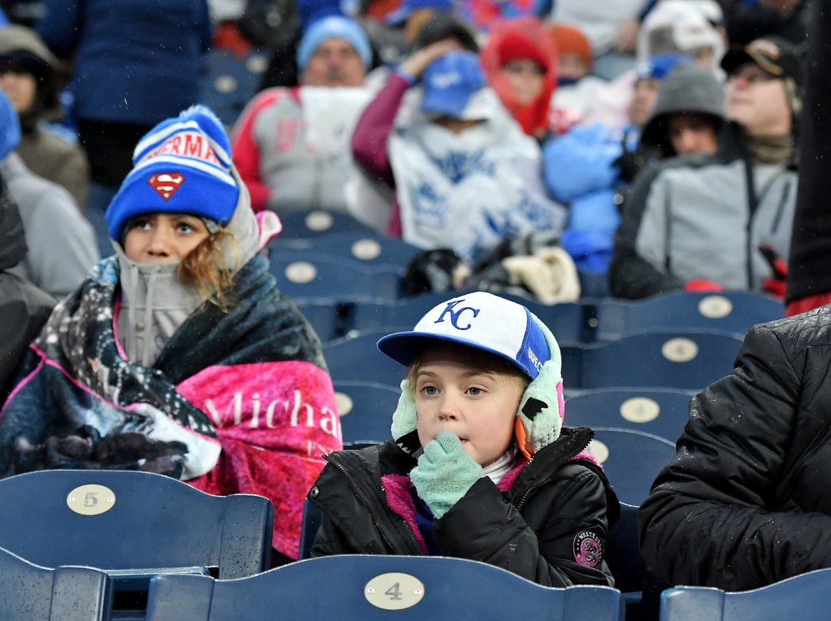 Another cold weekend at The K for @Royal...