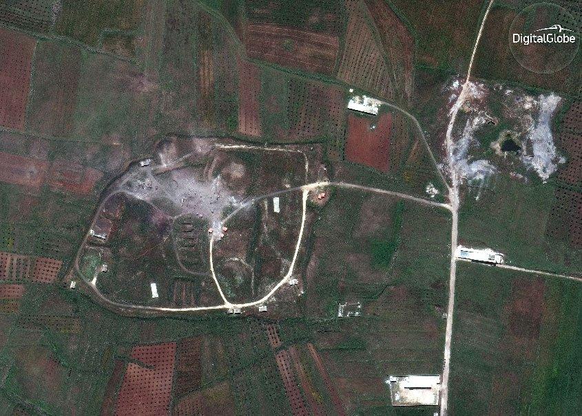 Показаны доказательства «успешности» ударов по Сирии