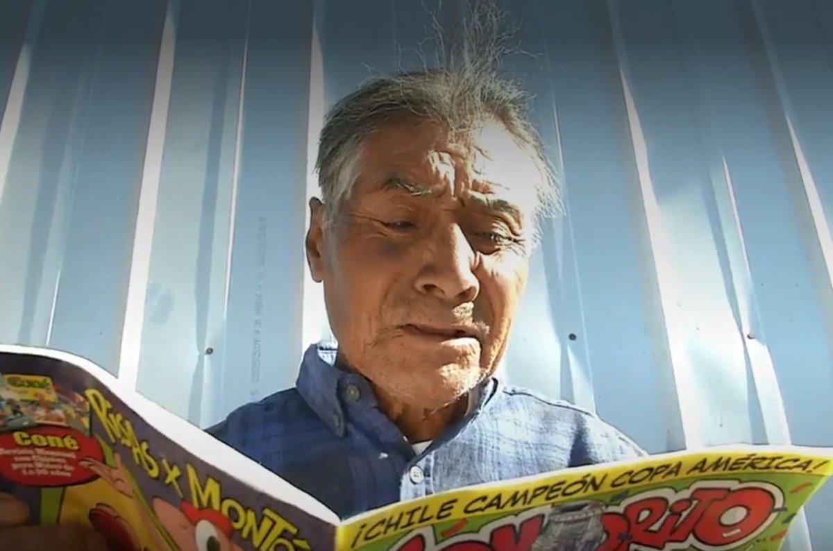 Copiapino de 87 años logra cumplir el sueño de su vida: Aprendió a leer y escribir https://t.co/9qSrIBZVFM