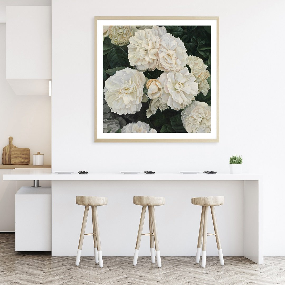 Sometimes, all you need is one great piece of artwork to bring your space to life.   📷 English Roses Square Framed Art Print, Cream from The Print Emporium. Find it online at Zanui here: https://t.co/imcvlDed5c https://t.co/HlNhnAcPlK