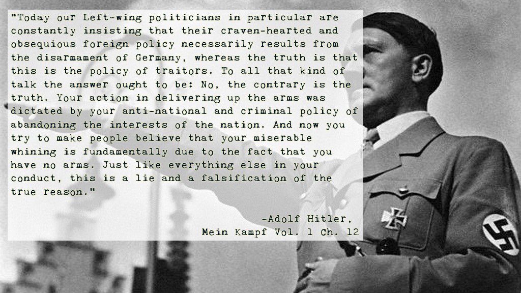 Mein Kampf Quotes | Red Hood On Twitter Hitler Quotes Supporting Private Property