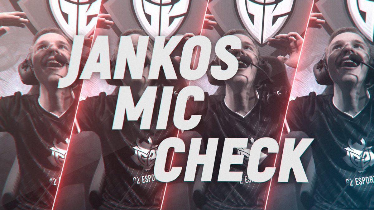 The King of Mic Checks:  Welcome to a Special Episode of Mic Check, featuring the one and only @G2Jankos! #EULCS