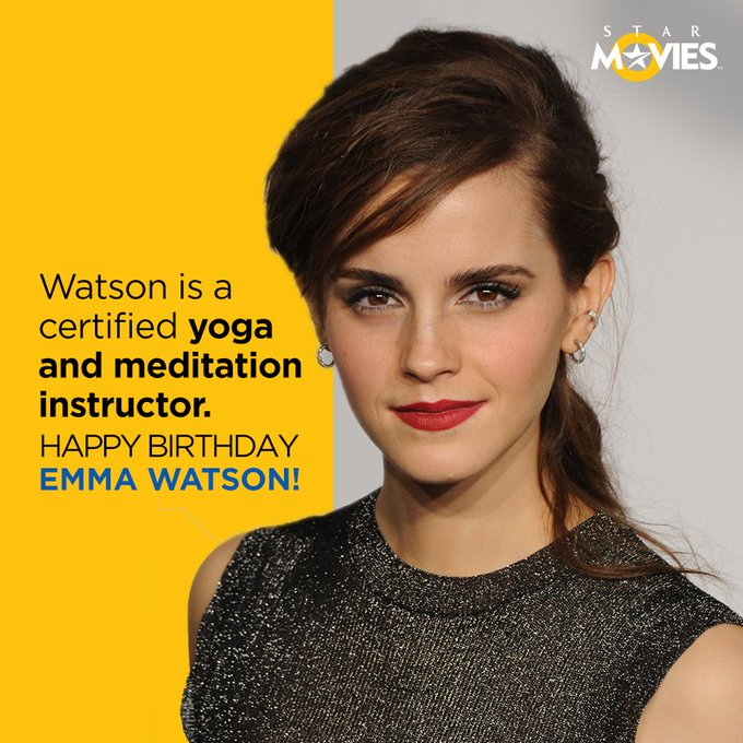 Happy birthday to the beautiful Emma Watson! Leave a comment with your birthday wish to her!