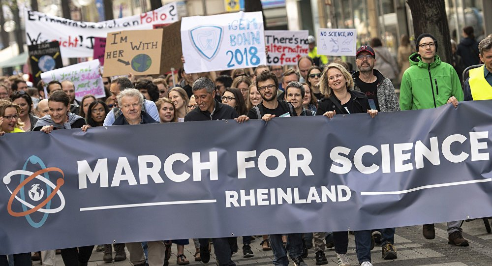 #MarchforScience returns Sunday to bring 'evidence-based thought' worldwide https://t.co/Hy3xDLw4z0