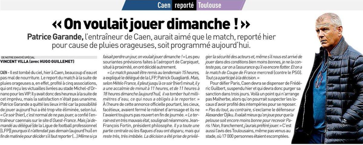 [33e journée de L1] SM Caen 0-0 Toulouse FC DazniPUW0AAshAa