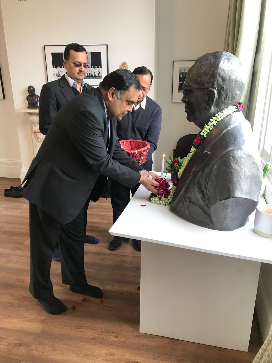 India In The Uk On Twitter India In Uk Paid Homage To Dr B R
