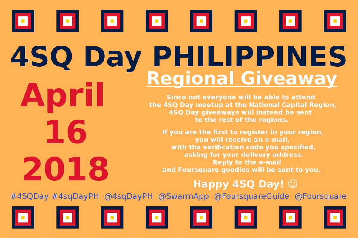 Giveaways philippines 2018 number