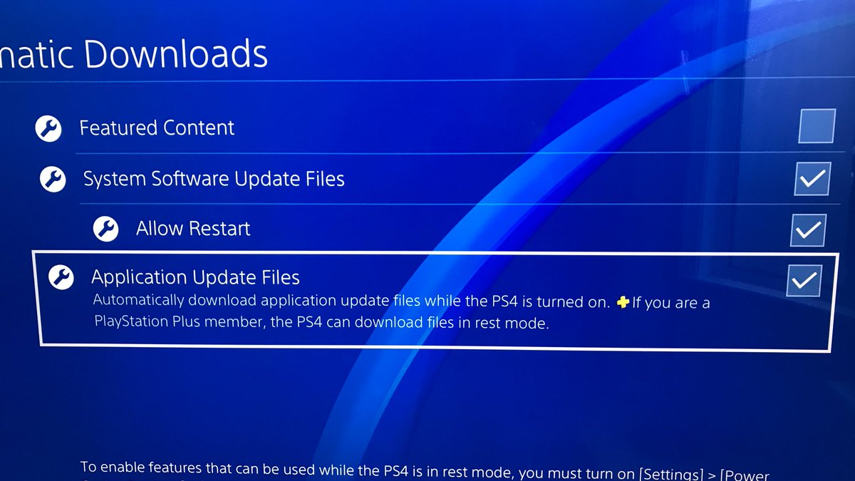 does ps4 download games in rest mode