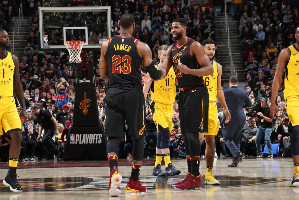 44b92d4fc42f Tristan Thompson s double double in Sunday afternoon s Game 7 helped ensure  LeBron James would yet again prevail against the Indiana Pacers in the NBA  ...