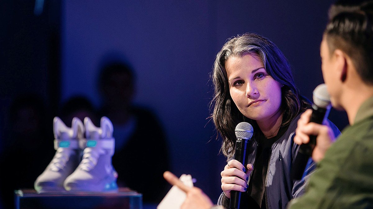 14783d82d ex nike designer tiffany beers is here to revolutionize sneaker youtube