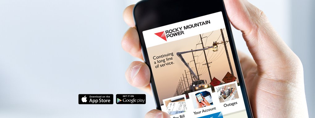 Rocky Mountain Power Id On Twitter Pay Your Bill Report A Power