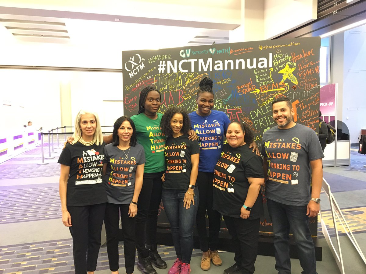 #nctmannual #NCTM #NCTM2018 #Mathematicians