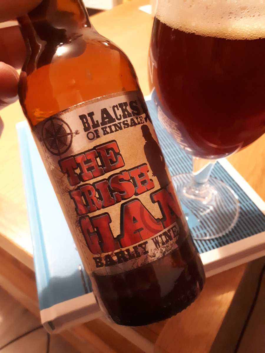 Go big or go home they say...  3 year old @BlacksBrewery The Irish Giant tasting so great! #beenupsince3am #parentlife #irishcraftbeer<br>http://pic.twitter.com/fMujx5Dp4f