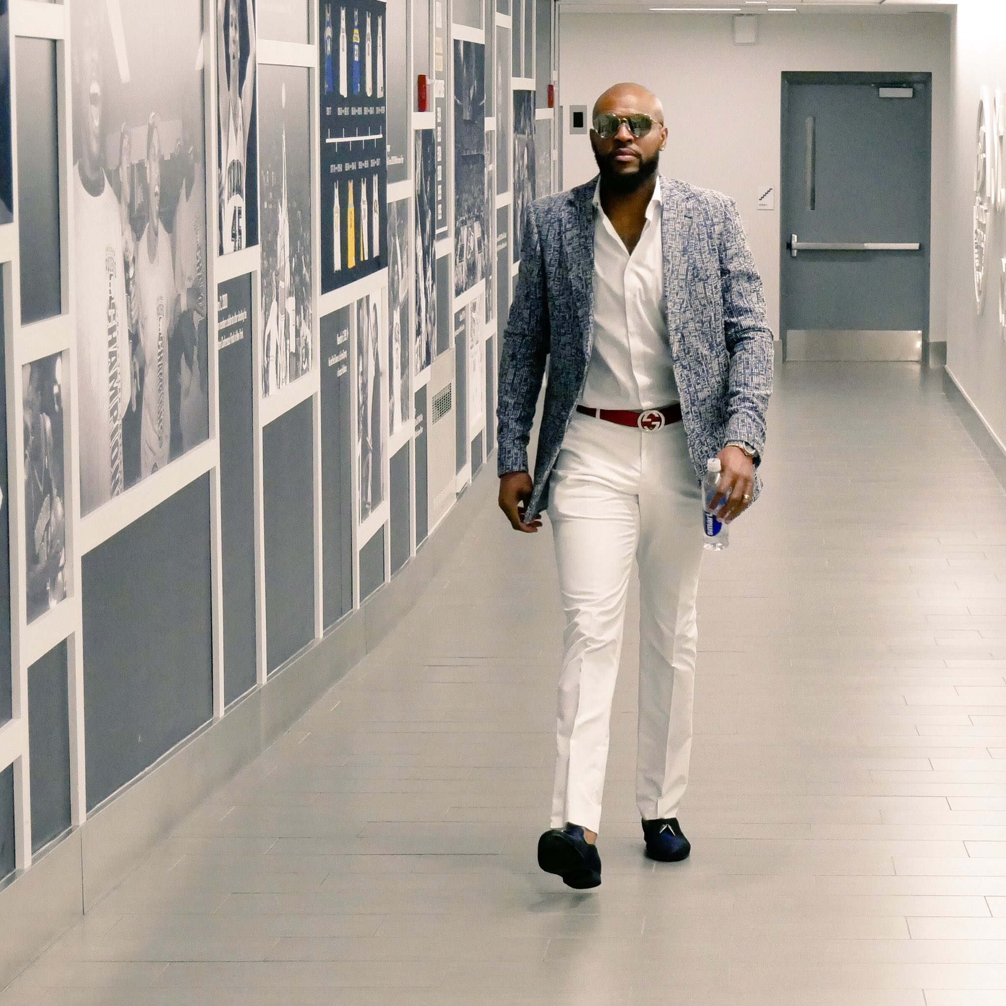 Arriving for Game 6 in style. https://t.co/26eISEkzgx