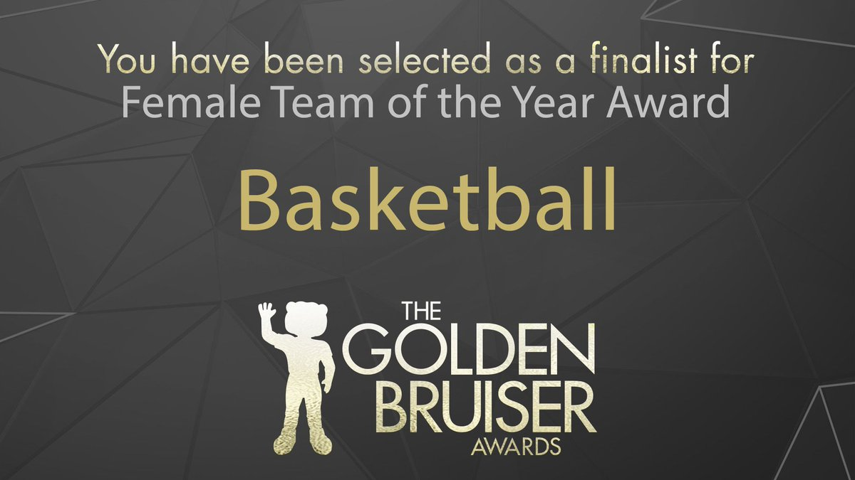 Congratulations to Women's Basketball (@BaylorWBB), a finalist for the 2018  #GoldenBruiser Award Show, Female Team of the Year Awardpic.twitter.com/ ...