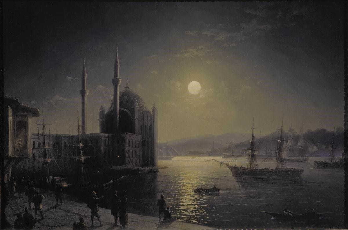 Ivan Ayvazovski'nin Gözünden İstanbul celinesymbiosis.blogspot.com/2018/04/ivan-a…