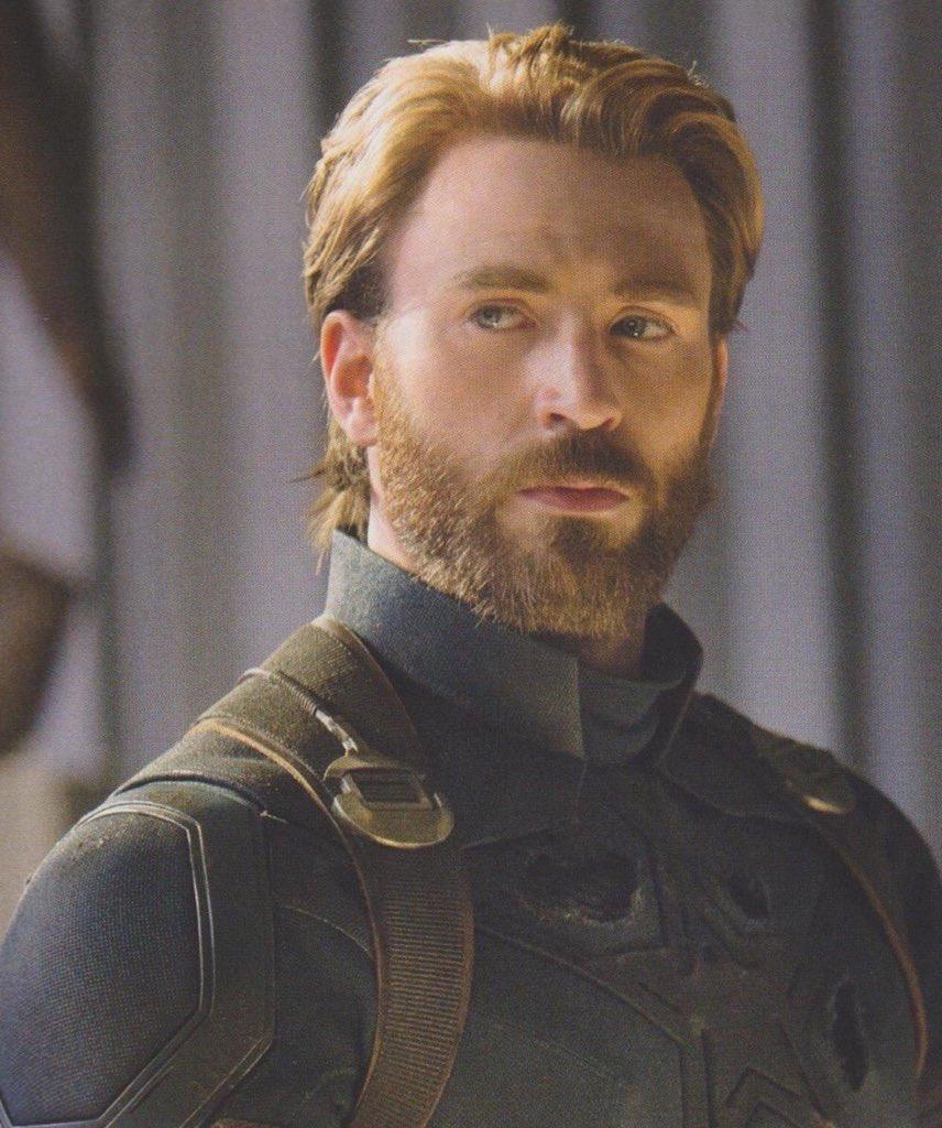 """luigina lopez on twitter: """"cap's beard > rt @tolkienianjedi: steve"""