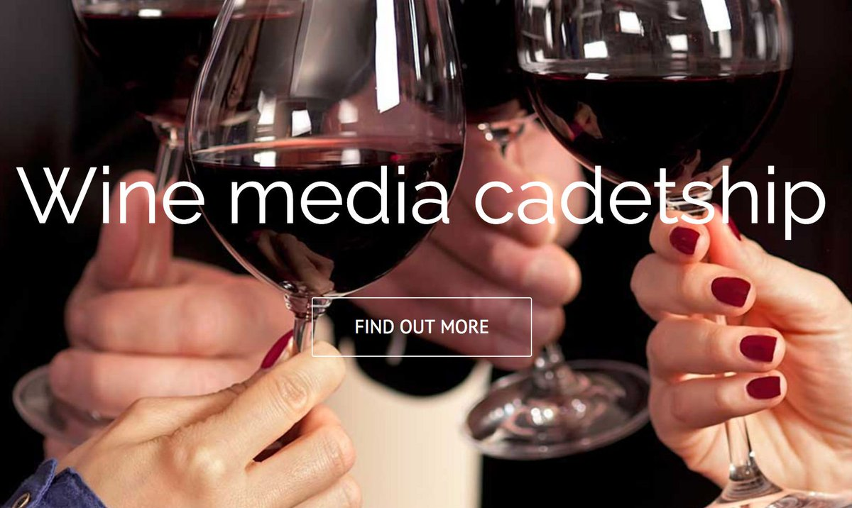 Do you know someone that is an aspiring communications professional and loves wine? The Wine Media Cadet program  is their next career opportunity and opens doors in the wine media world. Applications close on Friday 18th May. To apply click here. https://t.co/FVb0CoRqRn https://t.co/A3Q08K3dtX