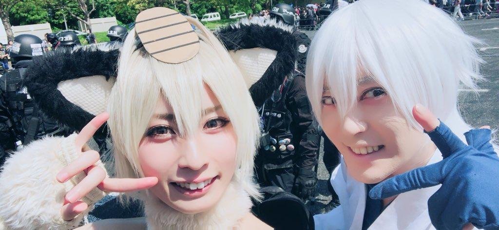 チルノ(29歳)+7@コスプレ活動!, (*゚ロ゚)ハッ!!熊(はくま) 🐻ゲームお喋りお姉さん, 赤井狐 and mi,ya.@  🎂7/8BDオフ会かかっていらっしゃいませ 💖 🍾