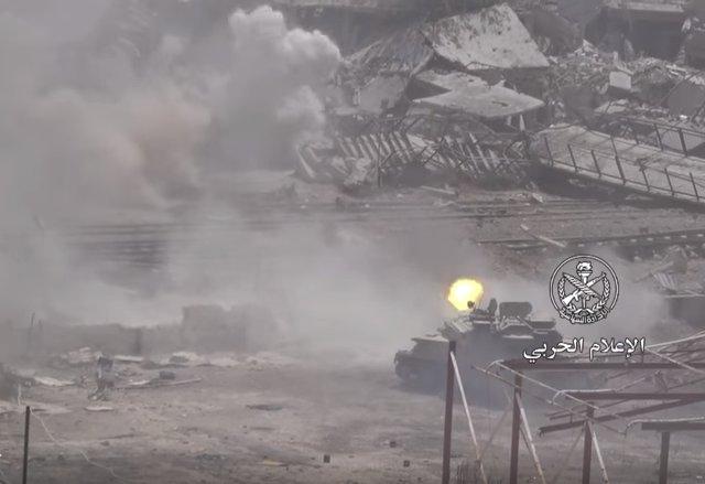 Штурм Ярмука. 28.04.2018