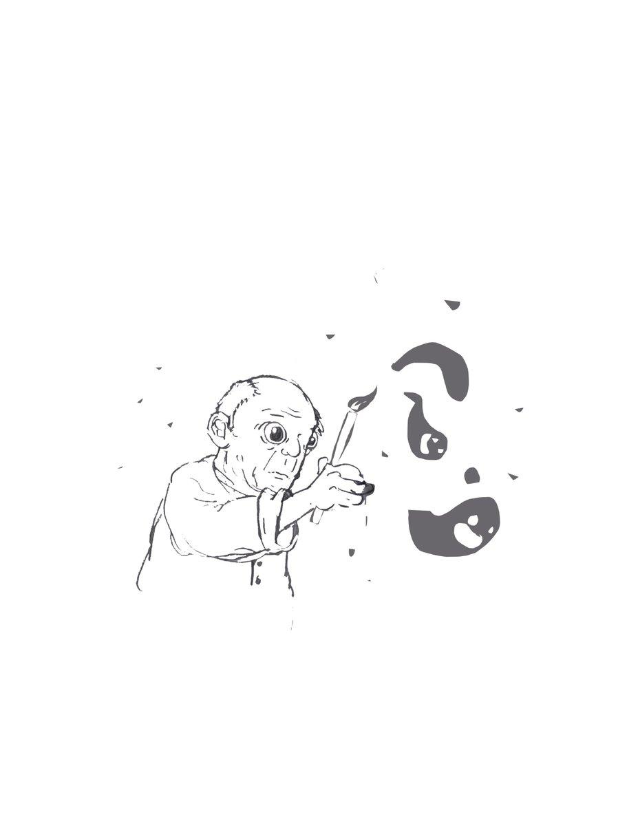 Robert filiuta on twitter picassos magic ink sketch