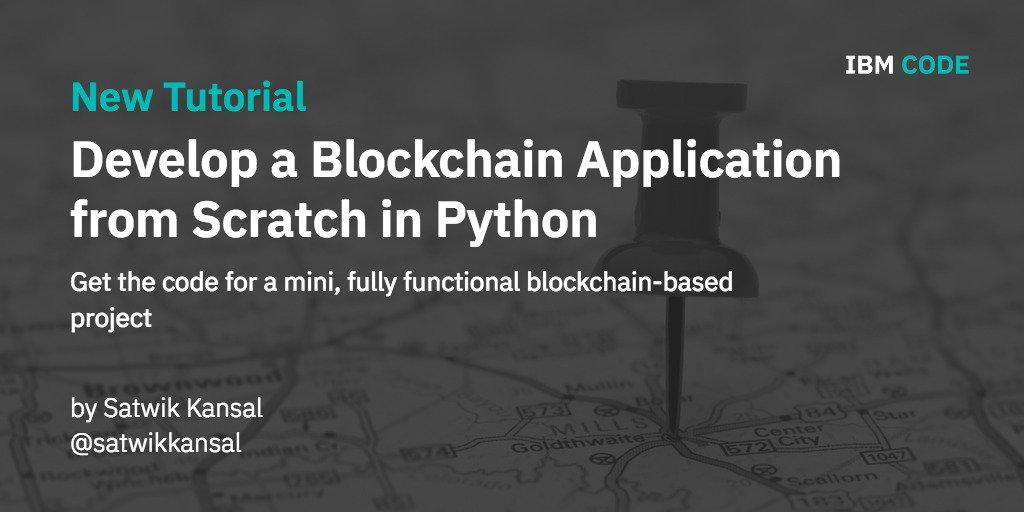 blockchain from scratch python