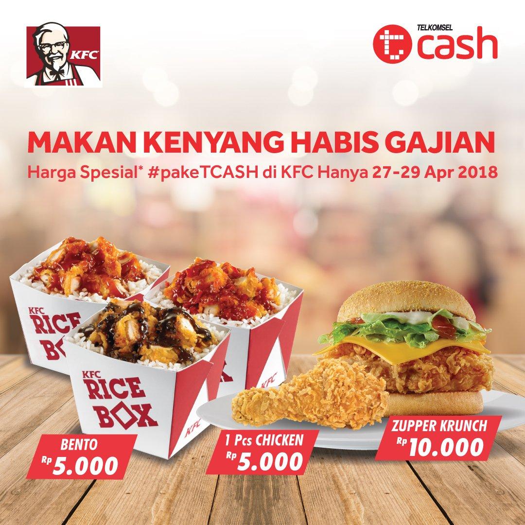 "TCASH Indonesia on Twitter: ""YEAYYYY! Kapan lagi beli ayam ..."