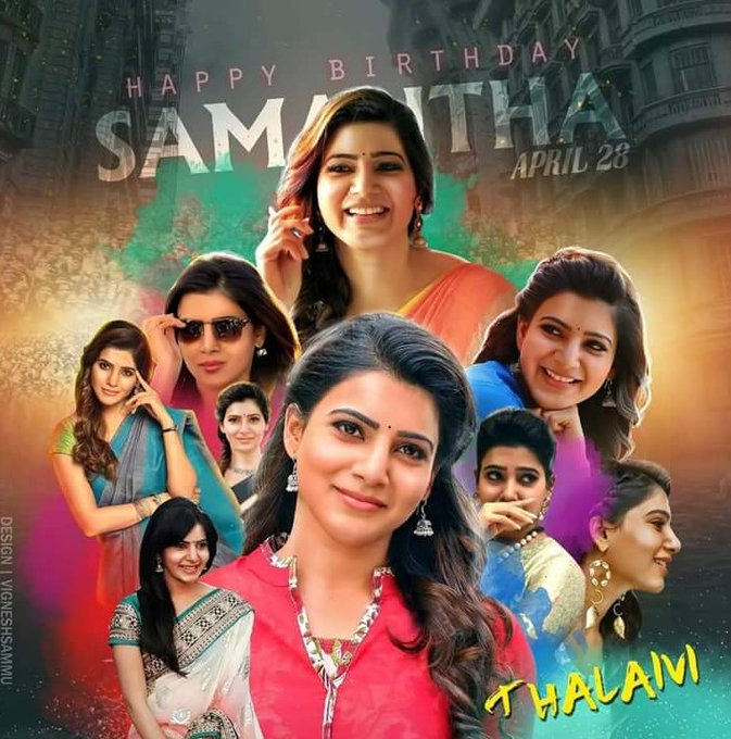 Happy birthday Akkineni samantha have wondered life wt stay blessed    N rock the day