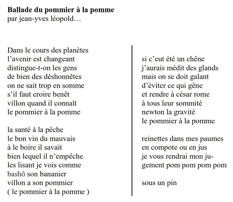 Jean Yves Léopold Di Twitter At Etienneklein Ce Poème Mien