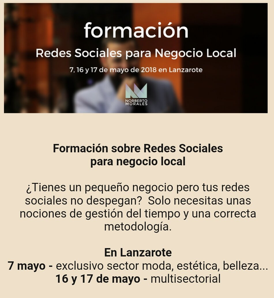 Cámara Lanzarote On Twitter Curso Especial Para Sector