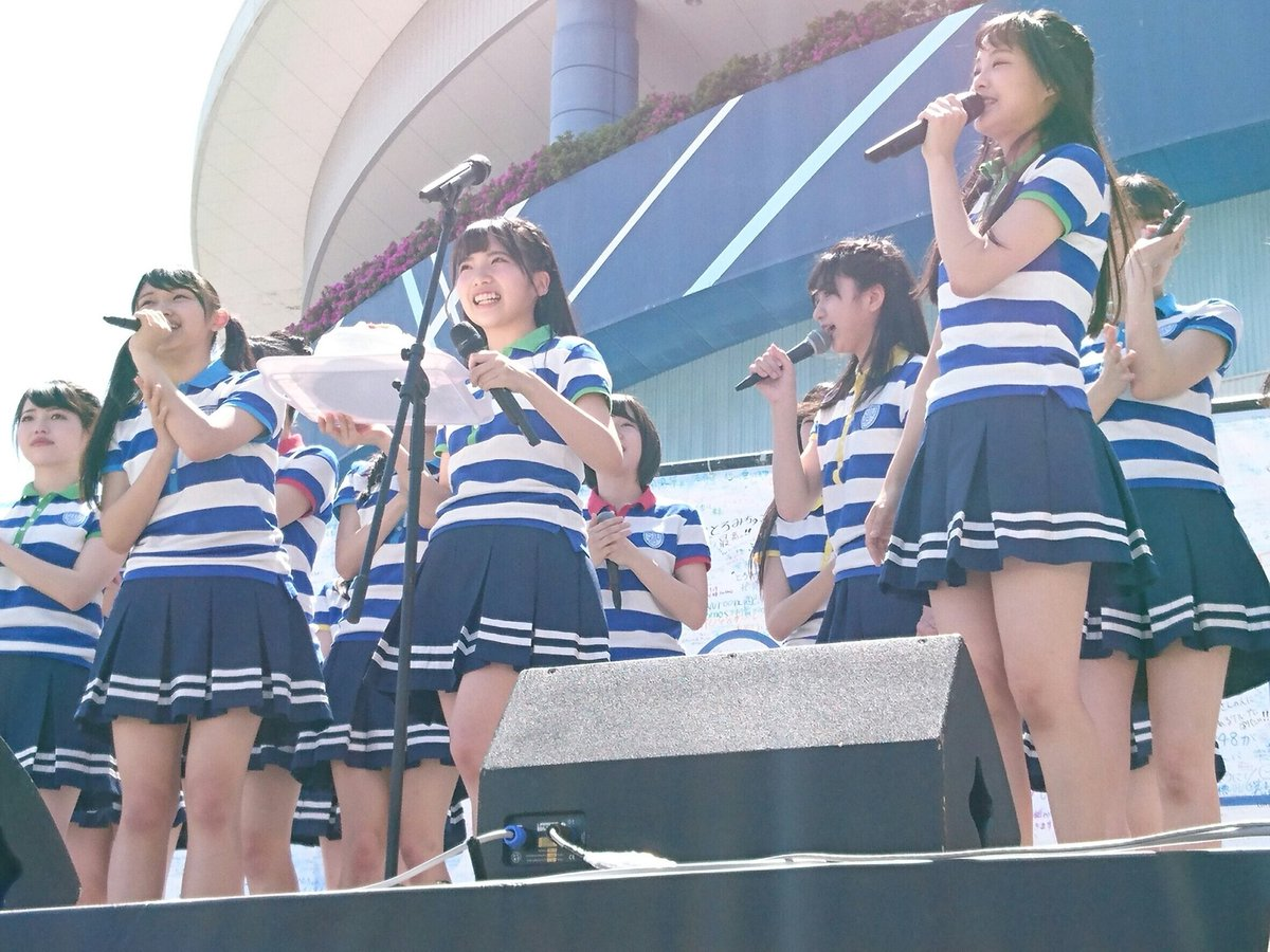 "STU48: STU48 On Twitter: ""STU48 デビューシングル『暗闇』 握手会イベント 瀬戸内7県周遊握手会"