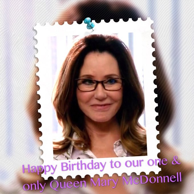 Happy Birthday to the one & the only Queen Mary McDonnell~Happy 36