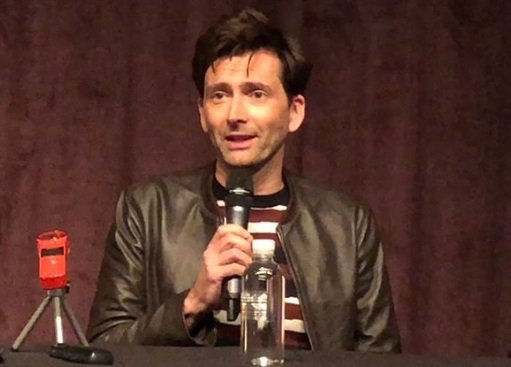 David Tennant at the Bad Samaritan press conference in Beverly Hills/LA 28th April 2018 - photo by Patrick PJ Campbell