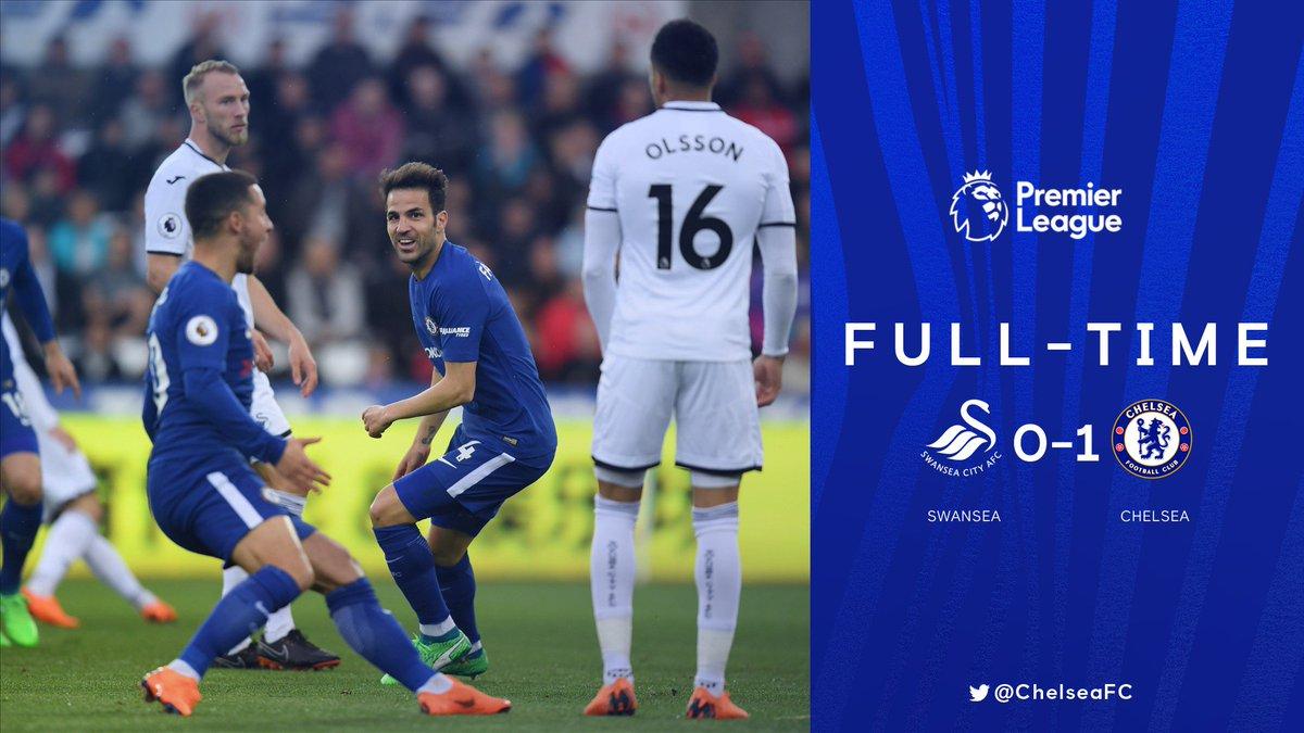 Chấm điểm kết quả Swansea City 0-1 Chelsea