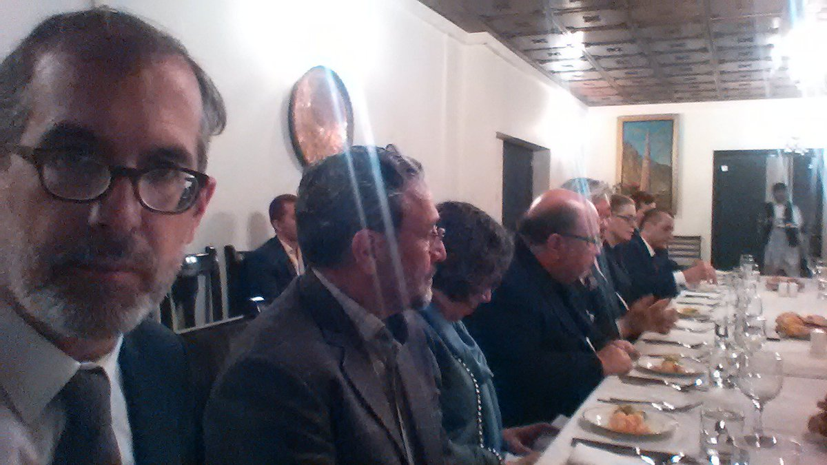 Tonights @UNAMAnews dinner with AFG poltical parties: Reassuring consensus to register for elections, mutual commitment to make preparation more inclusive + observe process already from registration stage  @IECAfghanistan @ARG_AFG @GermanyinAFG @AA_stabilisiert @AmrullahSaleh2