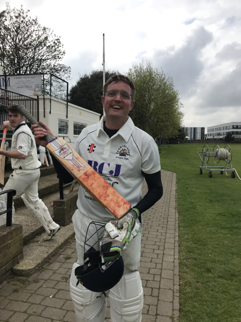 2s win Johan with 3 wickets and 79 not out against @worthingcc 🏏🏏 #sladearmy